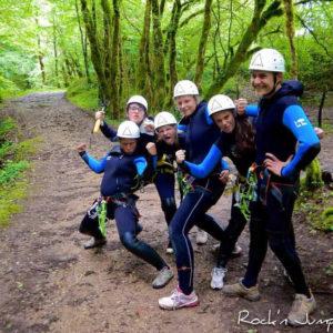 stage vacances verticales escalade canyoning via ferrata jura grimptout ferney voltaire