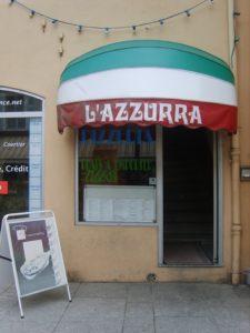 pizzeria l'azzura